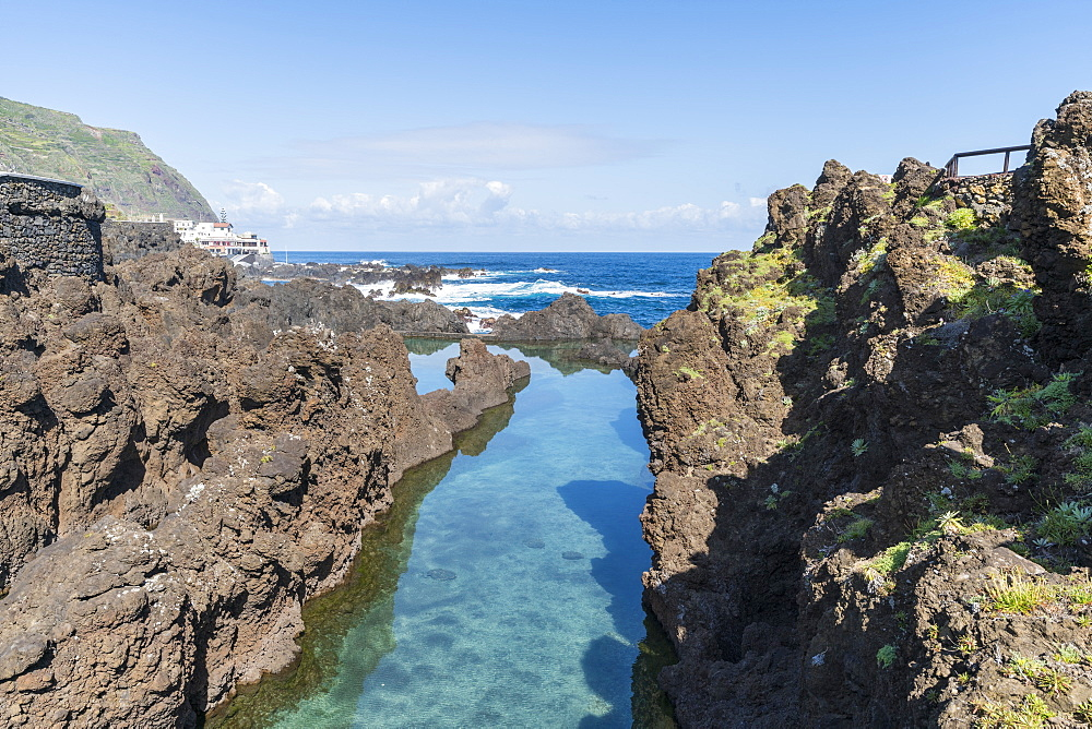 Natural pools of Porto Moniz, Madeira, Portugal, Atlantic, Europe