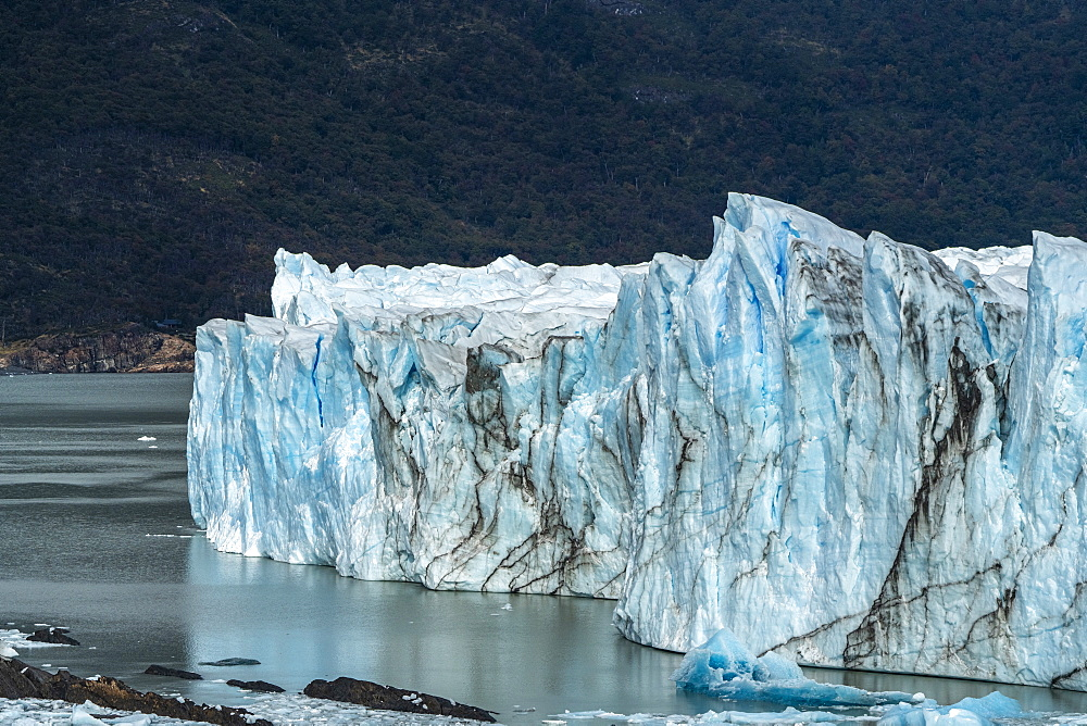 Perito Moreno and Lago Argentino, Los Glaciares National Park, UNESCO World Heritage Site, Santa Cruz, Argentina, South America - 1251-537