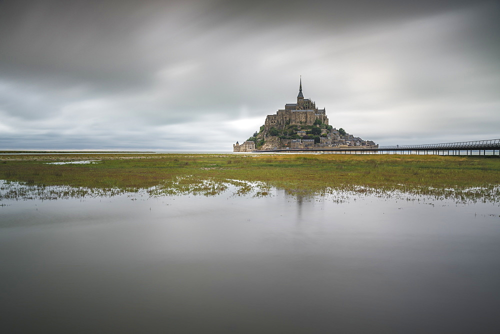 Mont-St-Michel, Normandy, France.