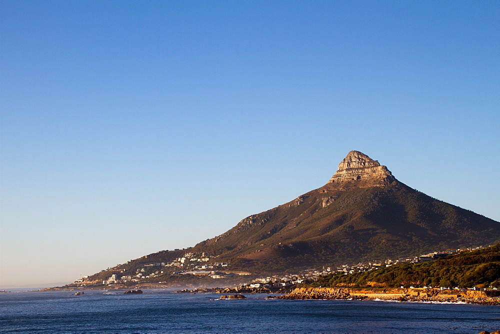 Lion's Head Mountain, Cape Town, South Africa. - 1262-197