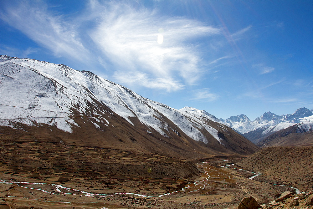 Mountain landscapes of Southern Tibet, Himalayas, China, Asia
