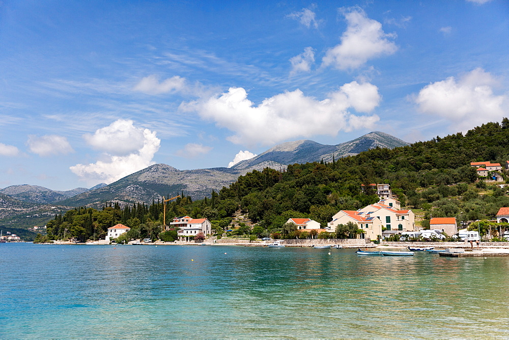 The resort of Slano on the Dalmatian Coast in Croatia.