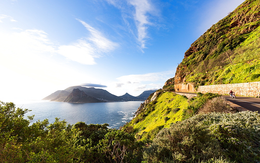 Stock photo of Chapman's Peak Drive, Hout Bay, Cape Peninsula, Western Cape, South Africa