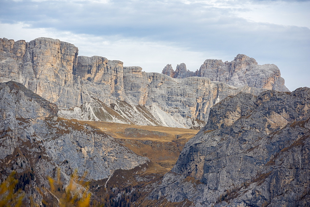 Mondeval in autumn, Dolomites, Veneto, Italy, Europe - 1264-142