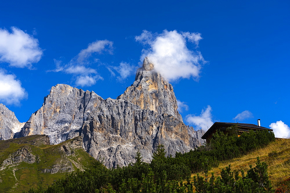 Italy, Veneto, Dolomites, Rolle pass, Cimon de la Pala - 1264-245