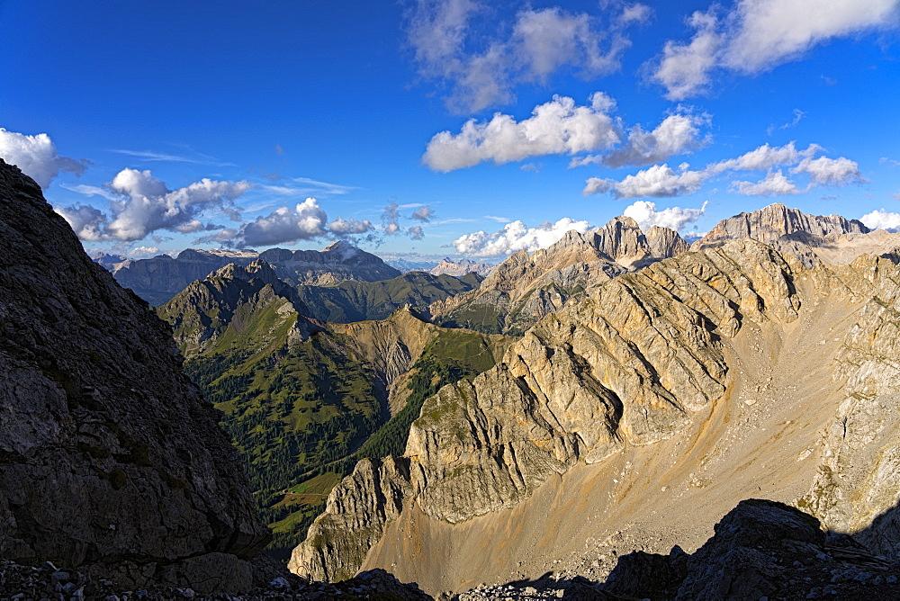 Alta Via Bepi Zac, Dolomites, Veneto, Italy, Europe