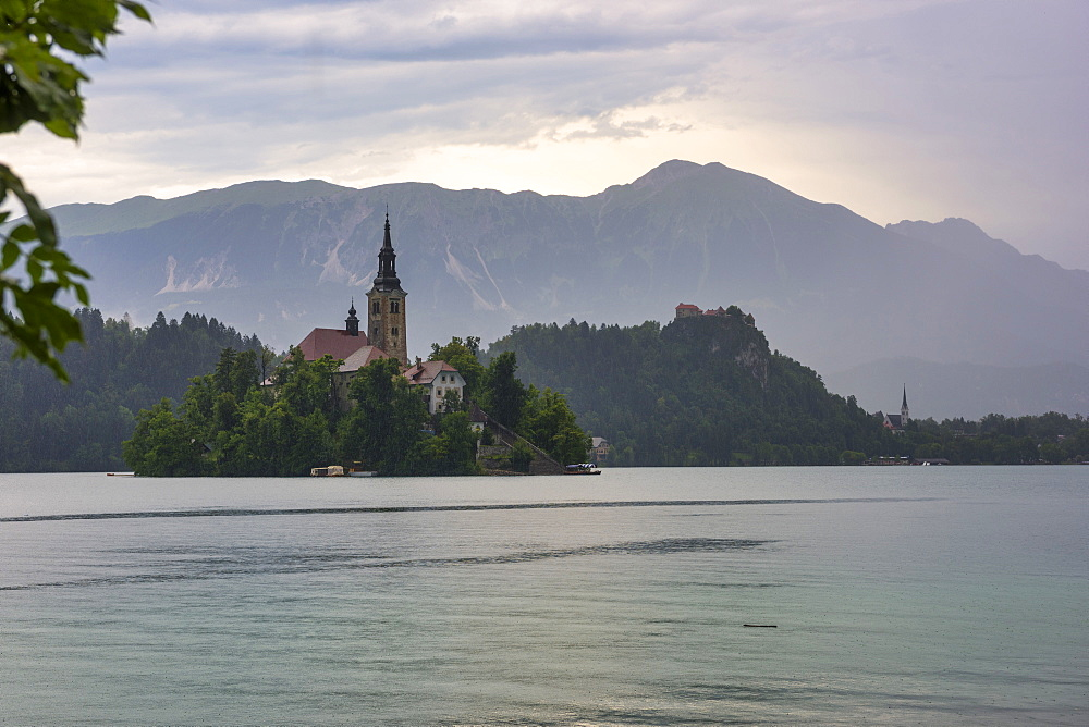 Bled Island and Church of the Assumption of Maria, Bled, Slovenia, Europe - 1264-79