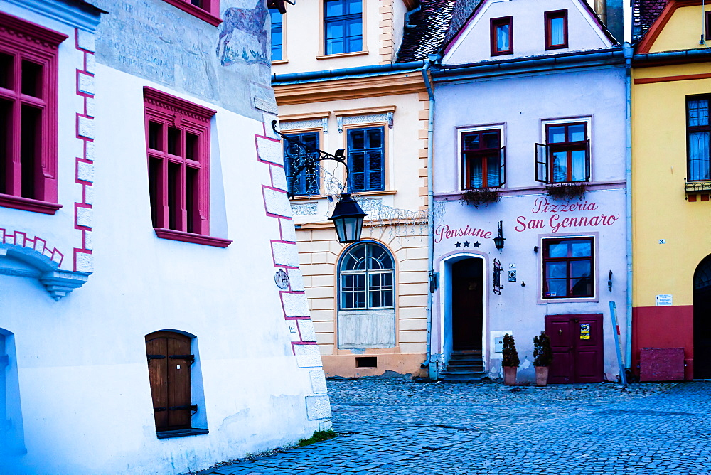 Sighisoara medieval town, UNESCO World Heritage Site, Transylvania, Romania, Europe - 1265-45