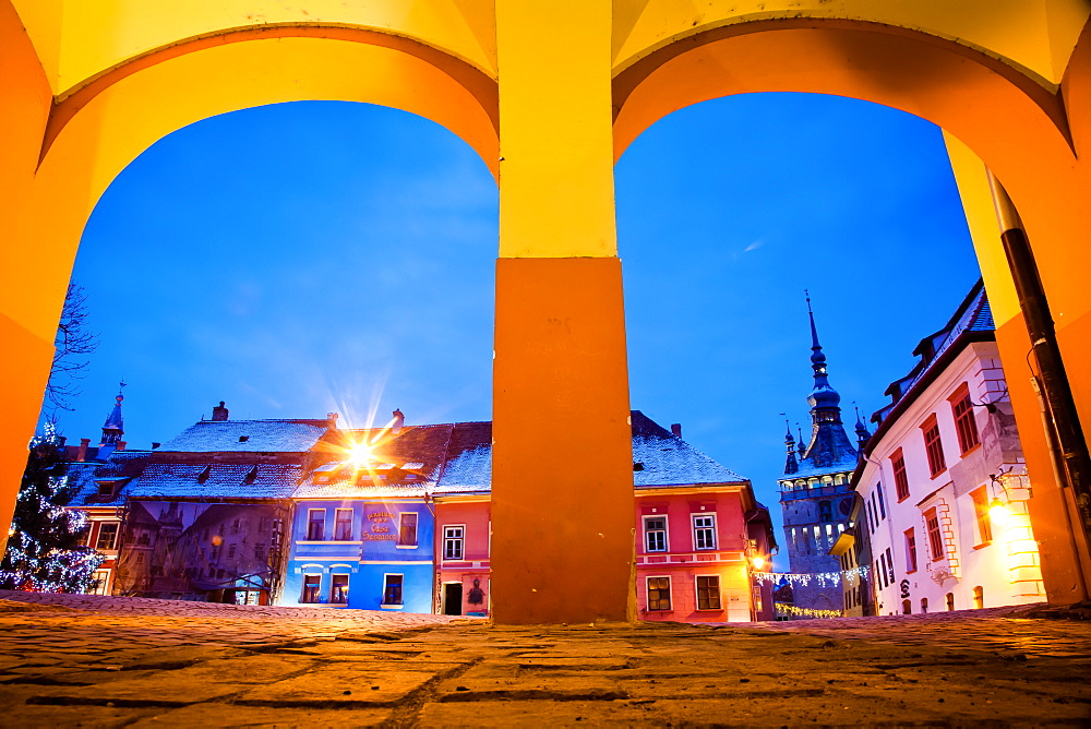 Sighisoara medieval town, UNESCO World Heritage Site, Transylvania, Romania, Europe - 1265-46