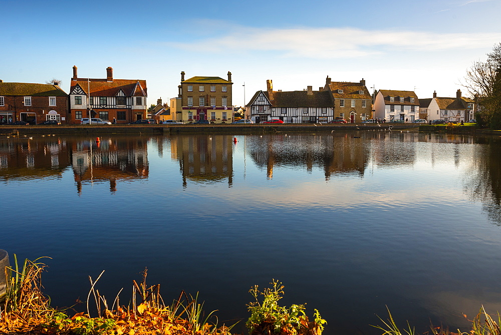 The Causeway, Godmanchester village, Cambridgeshire, England, United Kingdom, Europe