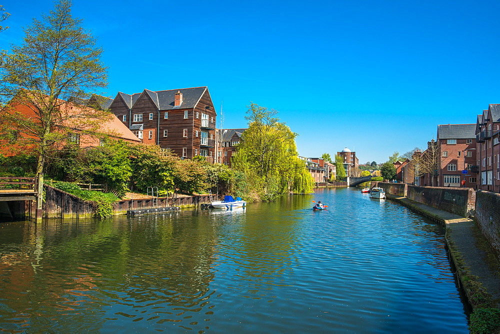 River Wensum, Norwich, Norfolk, England, United Kingdom, Europe