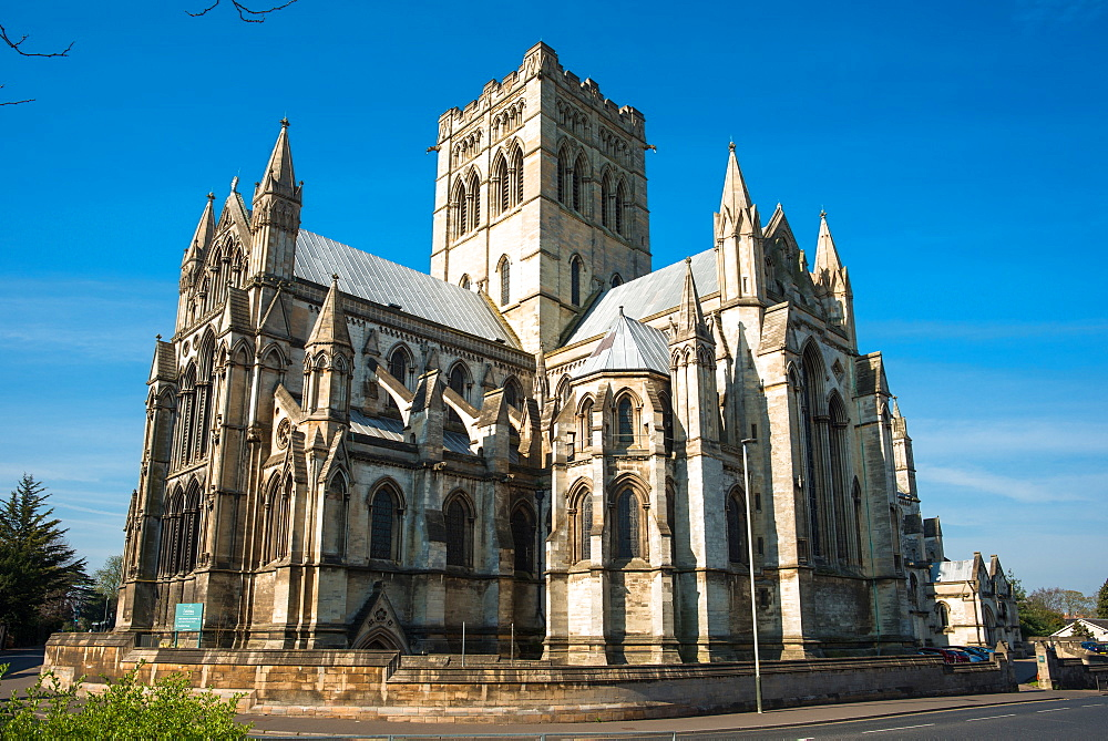 Roman Catholic Cathedral Of St John The Baptist in Norwich, Norfolk, East Anglia, England, UK.