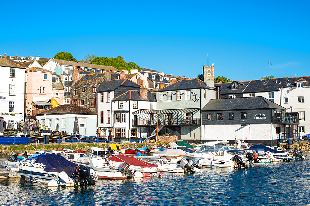 Custom House Quay in Falmouth Cornwall England GB UK Europe