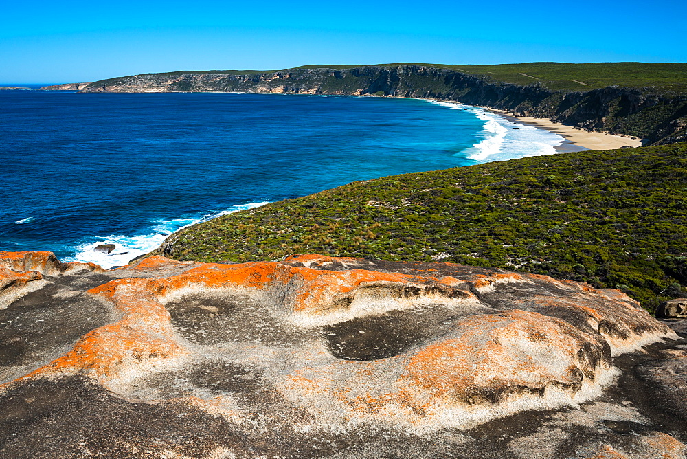 Views at the Remarkable Rocks, Flinders Chase National Park, Kangaroo Island, South Australia.
