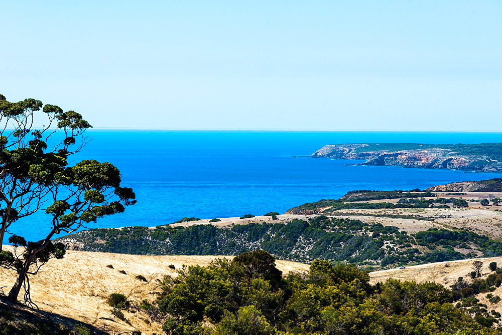 Sea views at Flinders Chase National Park, Kangaroo Island, South Australia.
