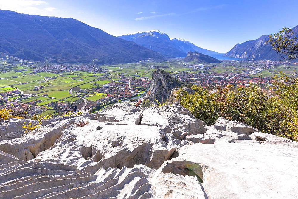Overview from Mount Colodri, Arco di Trento, Trento Province, Trentino-Alto Adige, Italy, Europe - 1269-135