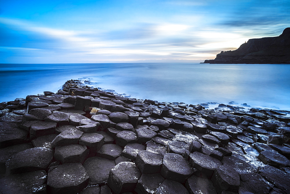 Giants Causeway, UNESCO World Heritage Site, County Antrim, Ulster, Northern Ireland, United Kingdom, Europe