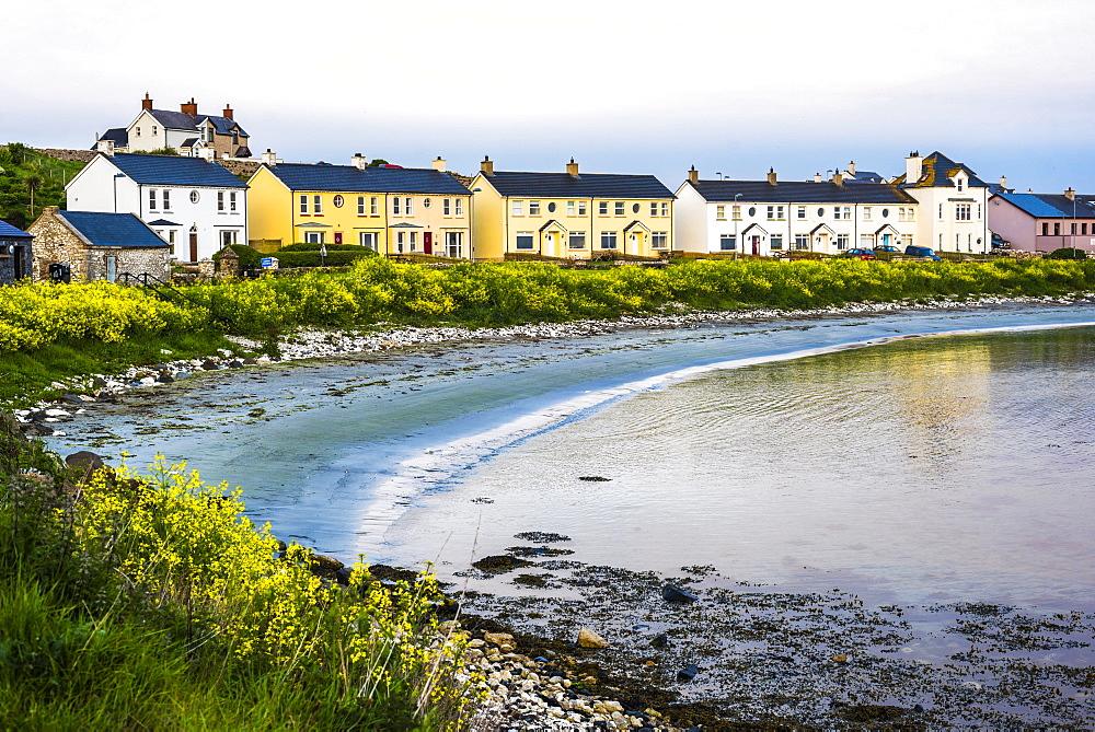 Fishing harbour on Rathlin Island, County Antrim, Northern Ireland - 1272-137