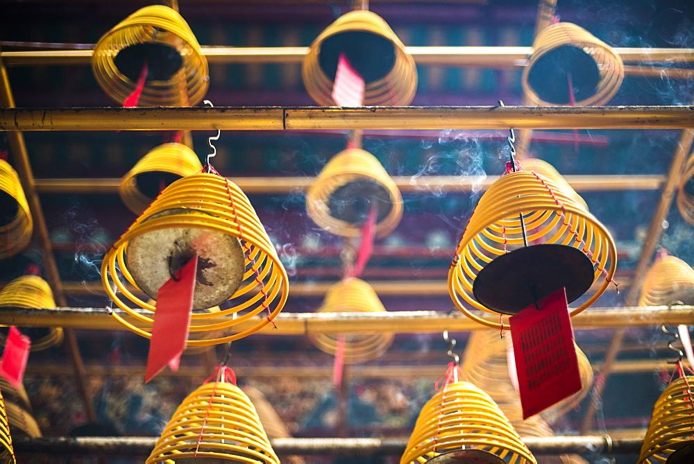 Man Mo Temple, Sheung Wan, Hong Kong Island, Hong Kong, China - 1272-255