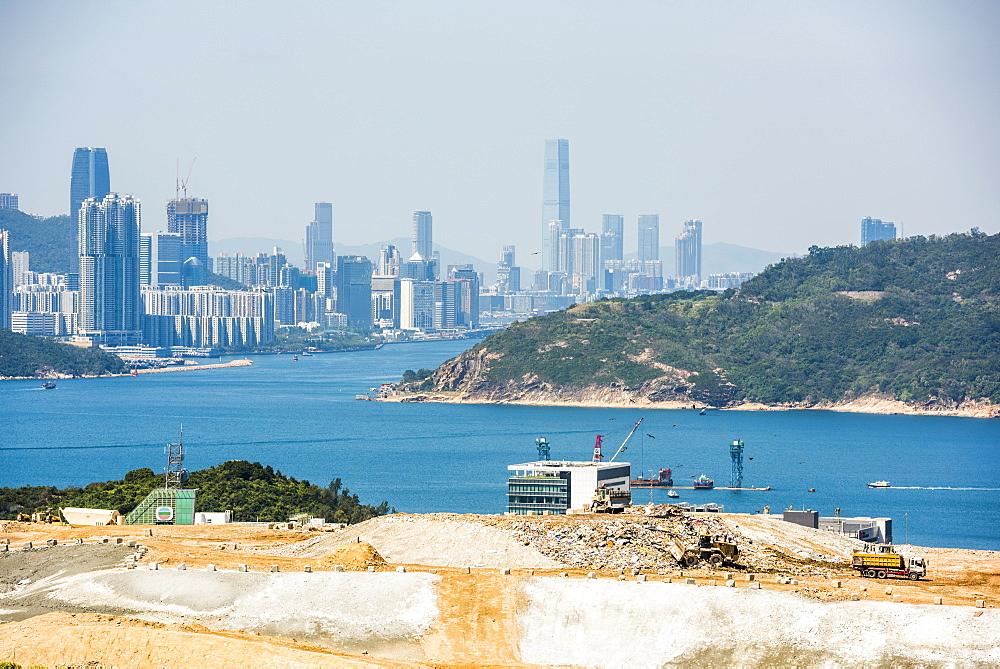 Landfill site, Kowloon, Hong Kong, China, Asia - 1272-260