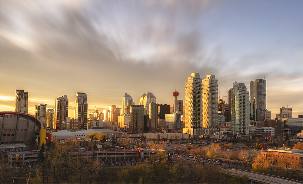 Skyline, Calgary, Alberta, Canada, North America - 1275-38
