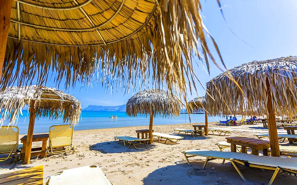 Maria Beach, Crete, Greek Islands, Greece, Europe