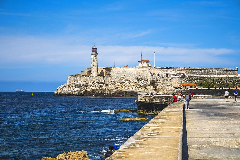 Castillo del Morro (Castillo de los Tres Reyes del Morro), La Habana, Havana, Cuba, West Indies, Caribbean, Central America