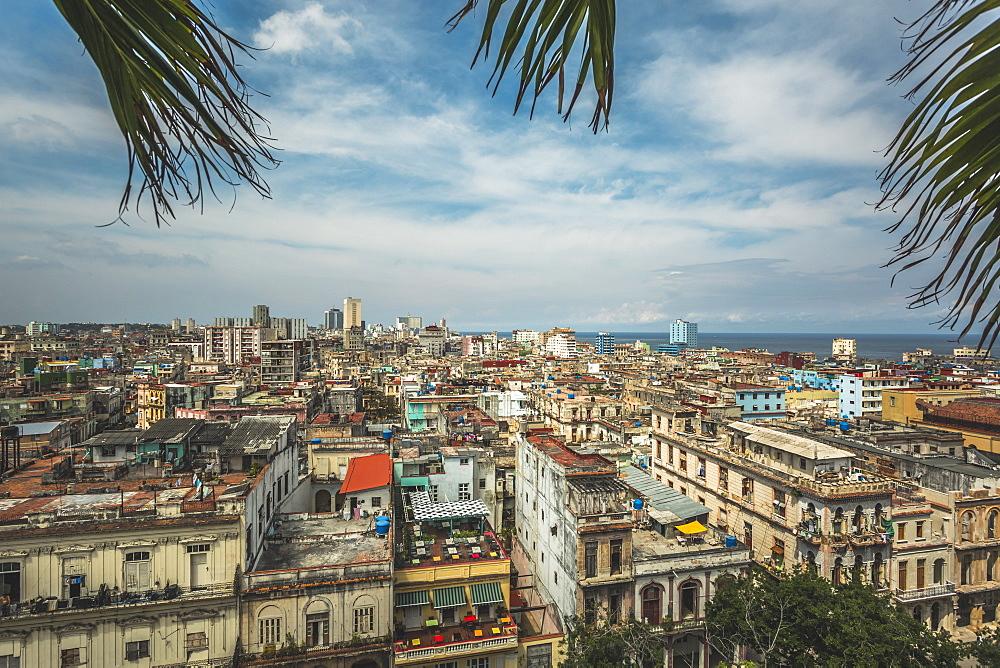 La Habana skyline, Havana, Cuba, West Indies, Caribbean, Central America