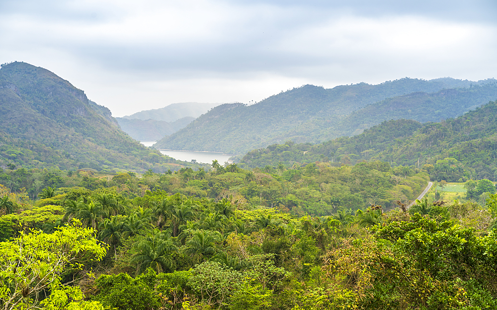 El Nicho valley in the Sierra del Escambray mountains not far from Cienfuegos, Cuba, West Indies, Caribbean, Central America