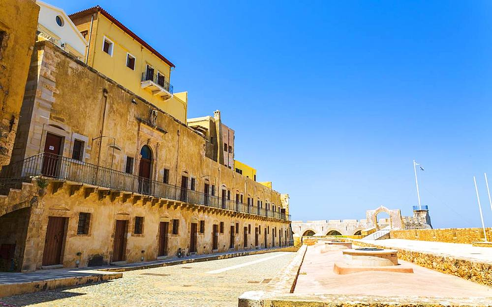 Firka Fortress, Chania, Crete, Greek Islands, Greece, Europe