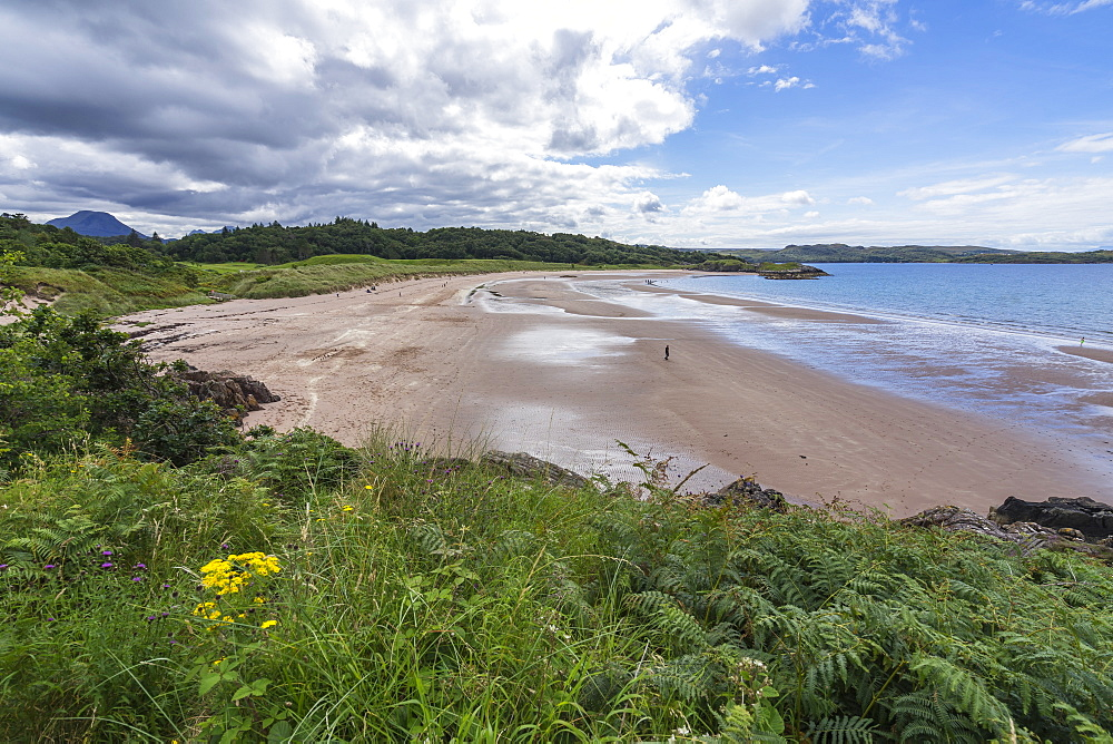 Sandy beach near Gairloch, Scotland - 1277-4