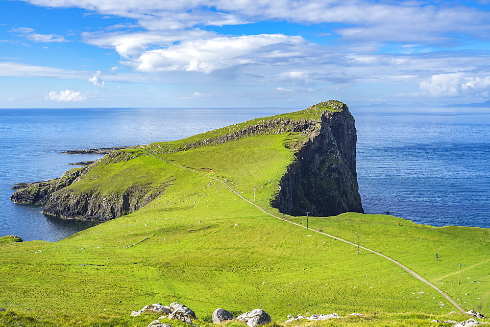 Neist point promontory, the most westerly point of Isle of Skye, Scotland - 1277-5