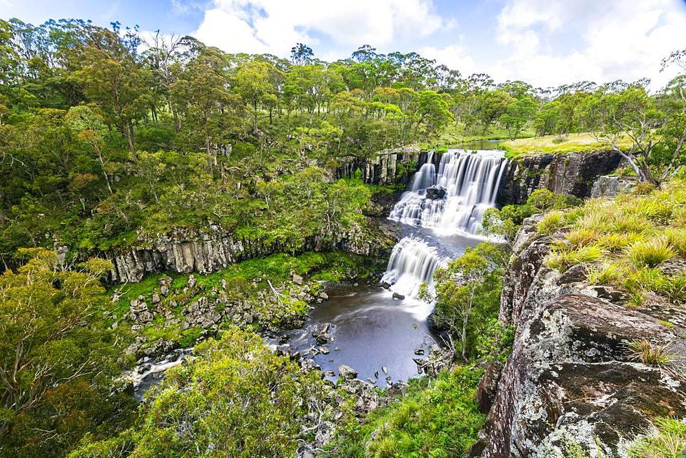 Upper Ebor Falls in the Guy Fawkes River National Park in Country New South Wales Australia - 1281-17