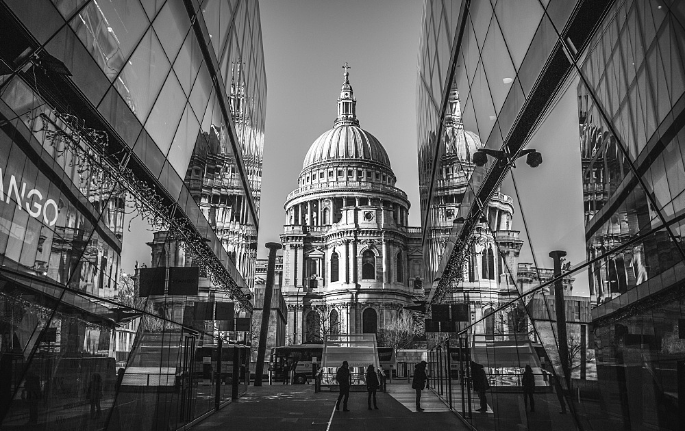 St. Paul's Cathedral, City of London, London, England, United Kingdom, Europe - 1282-20