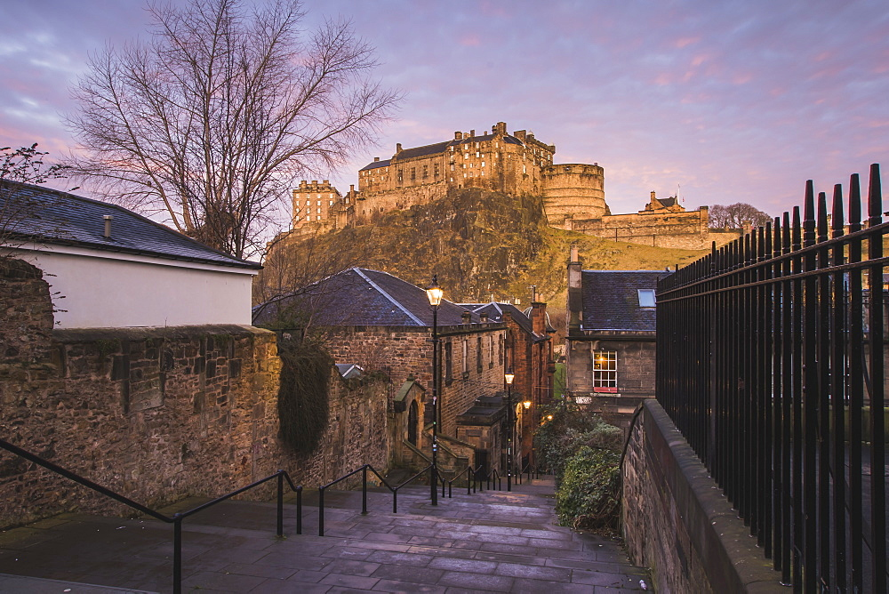 Edinburgh Castle, Scotland, United Kingdom, Europe - 1286-3