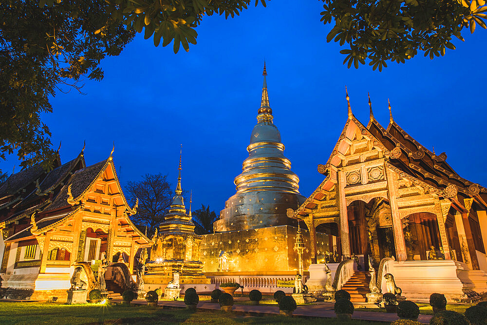 Phra Singh Temple, Chiang Mai, Thailand, Southeast Asia, Asia - 1286-33