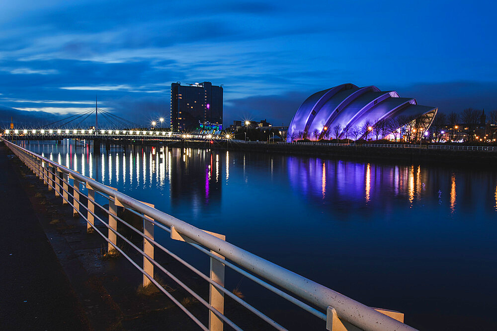 SEC Armadillo, River Clyde, Glasgow, Scotland, United Kingdom, Europe - 1286-34
