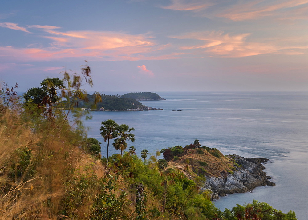 Promthep Cape at sunset, Phuket, Thailand, Southeast Asia, Asia - 1286-76