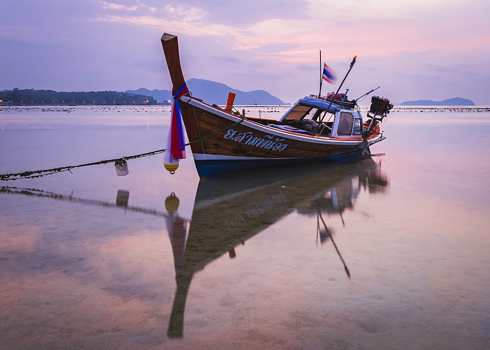 Long-tail boat on Rawai Beach, Phuket, Thailand, Southeast Asia, Asia - 1286-78