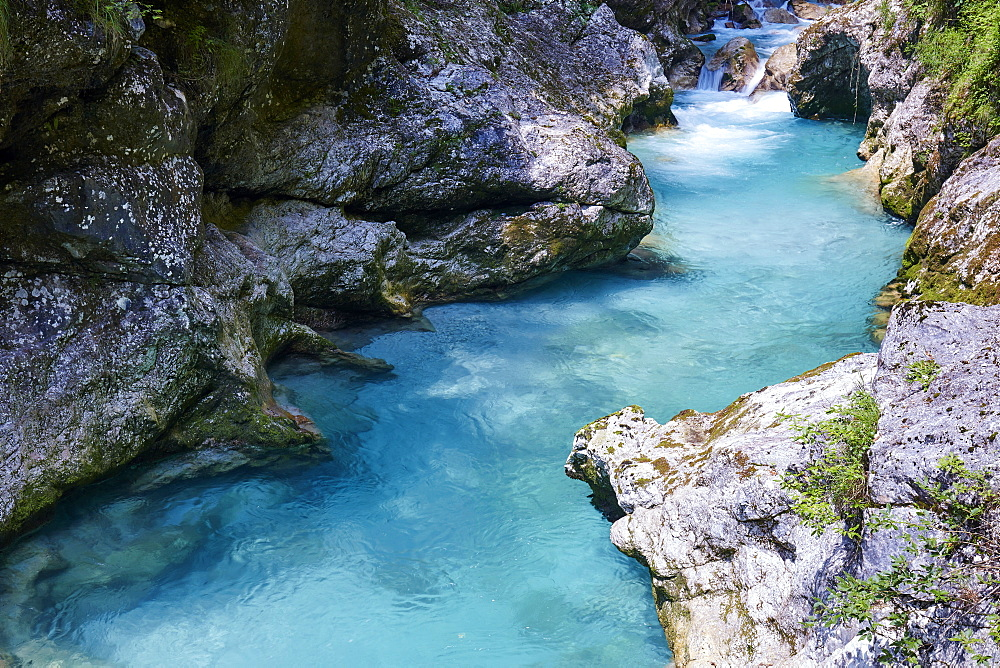 Soca River in Slovenia, Europe - 1294-79