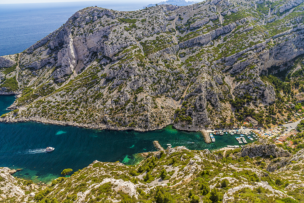 Calanques National Park, Bouches du Rhone, Provence,Cote d'Azur, French Riviera, France, Mediterranean, Europe