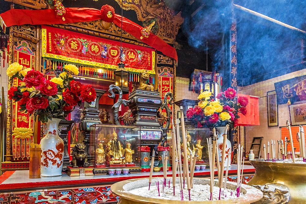 Sin Sze Si Ya Temple in Kuala Lumpur, Malaysia, Southeast Asia, Asia - 1297-1069
