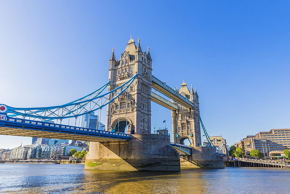 Tower Bridge and River Thames, London, England, United Kingdom, Europe - 1297-1168