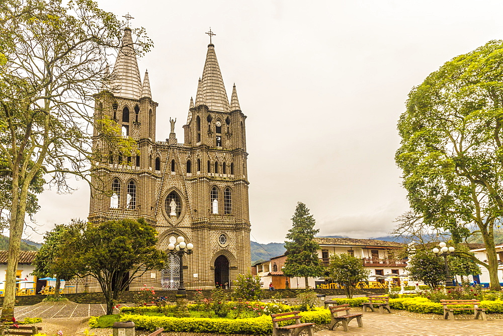 The Minor Basilica of the Immaculate Conception, Jardin, Colombia, South America