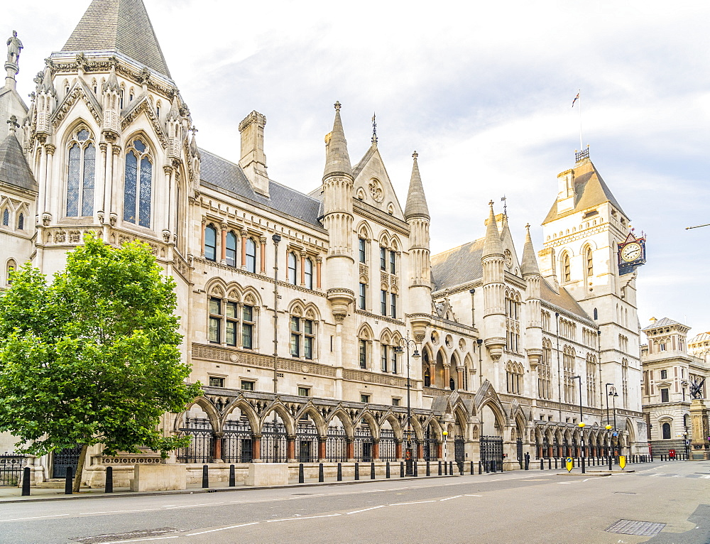 The Royal Courts of Justice in Holborn, London, England, United Kingdom, Europe