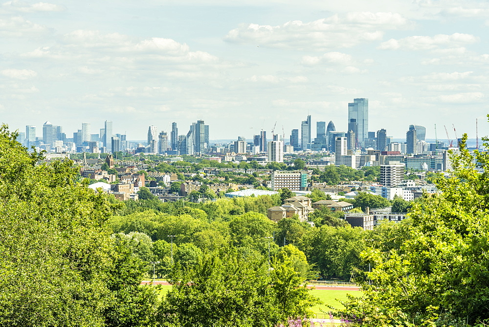 The view from Primrose Hill, London, England, Uk, Europe - 1297-1201