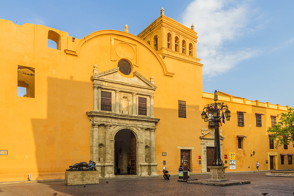 The church of Santo Domingo, Cartagena, Colombia, South America