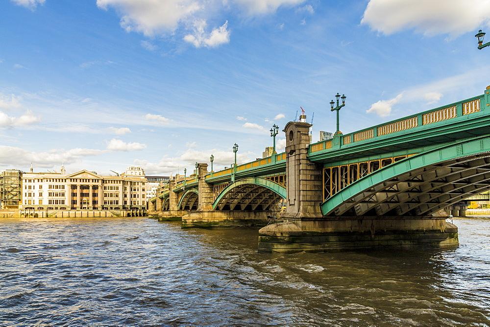 Southwark Bridge in London, England, United Kingdom, Europe.