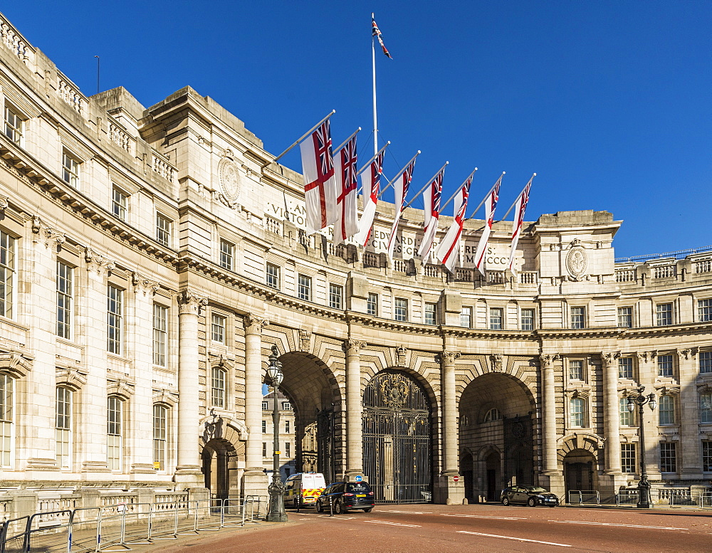 Admiralty Arch on The Mall, London, England, United Kingdom, Europe - 1297-423