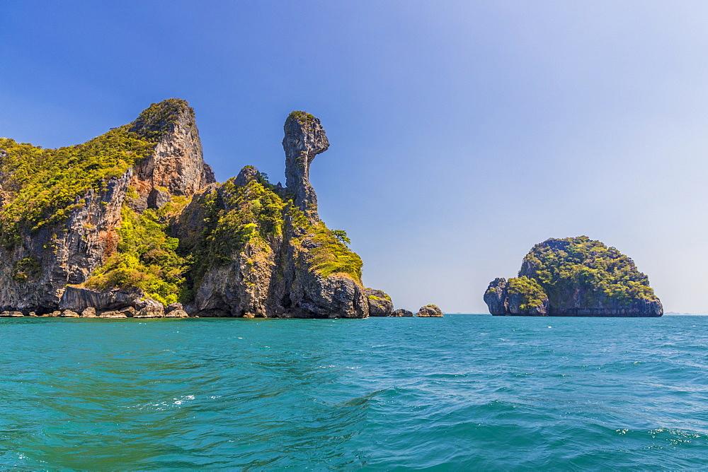 Chicken Island in Ao Nang, Krabi, Thailand, Southeast Asia, Asia